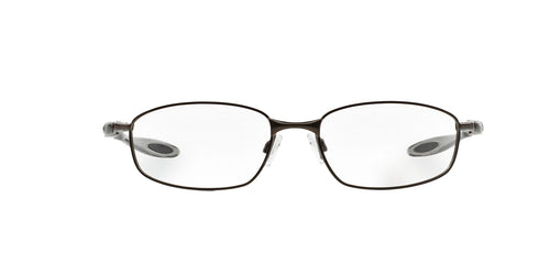 Oakley - Blender 6B Pewter/Clear Oval Men Eyeglasses - 55mm