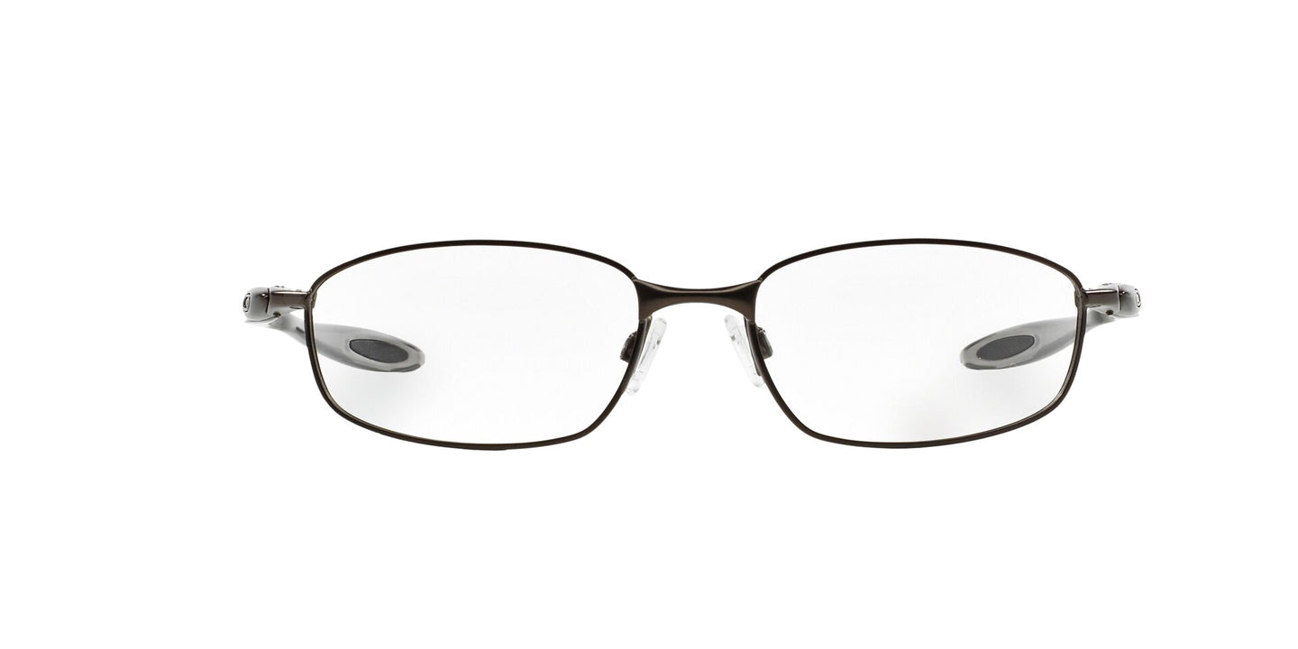 Oakley - OX3162 Pewter Oval Men Eyeglasses - 55mm