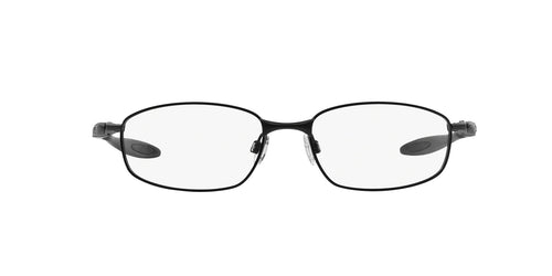 Oakley - Blender 6B Satin Black/Clear Oval Men Eyeglasses - 55mm
