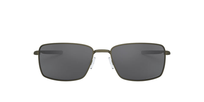 Oakley - Square Wire Carbon/Grey Rectangular Men Polarized Sunglasses - 60mm