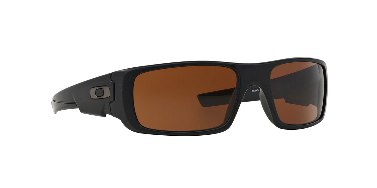 Oakley - Crankshaft Black/Bronze Rectangular Men Sunglasses - 60mm