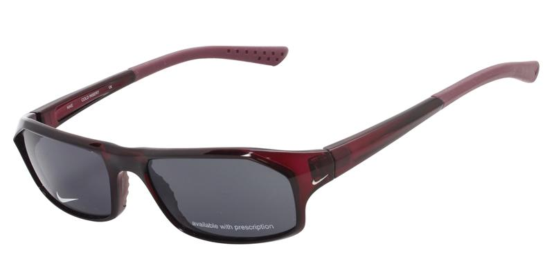 Nike Unisex 7040 Red / Gray Lens Sunglasses + Free Extra Lenses