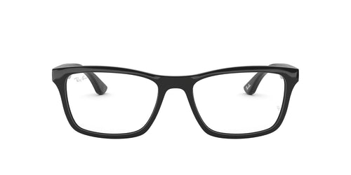 Ray Ban Rx - RX5279F Black Square Men Eyeglasses - 55mm