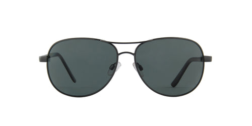 Smith - Suncloud Gunmetal/Grey Polarized Aviator Men Sunglasses - 60mm