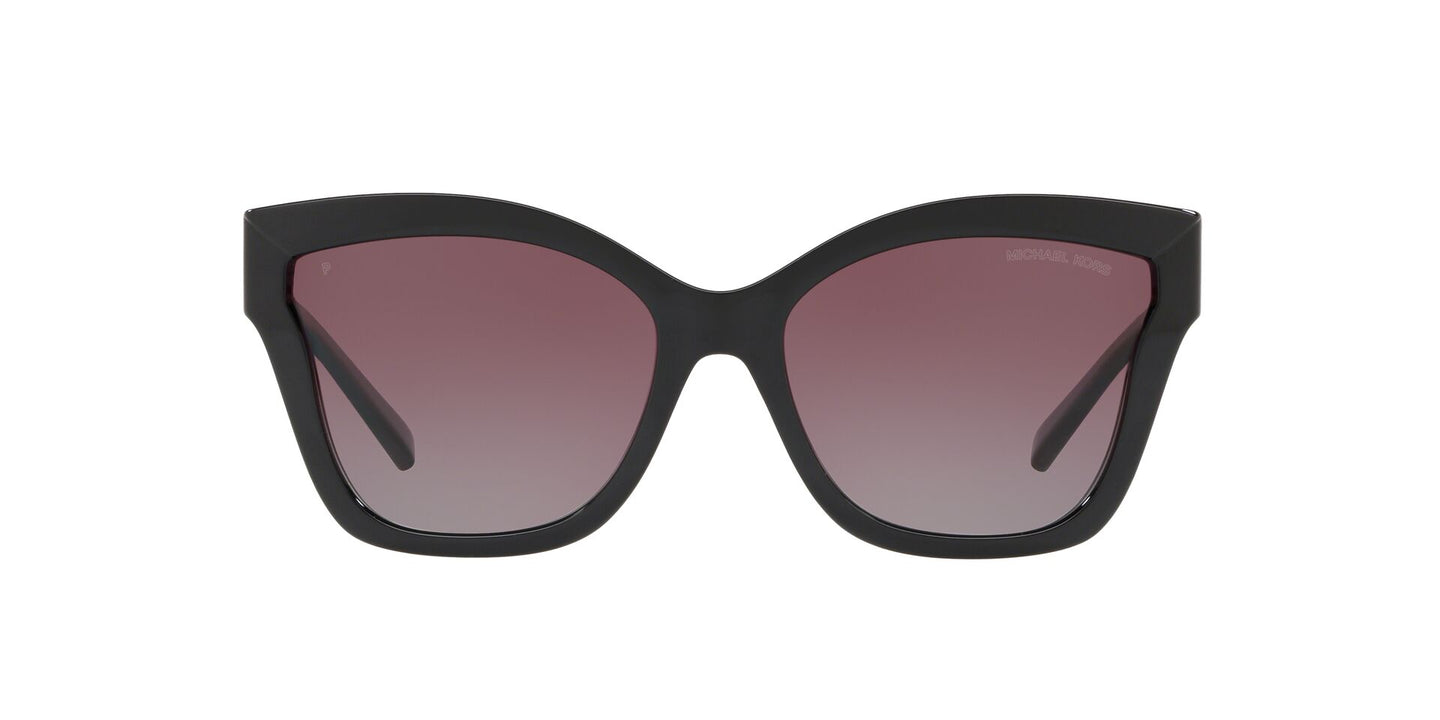 Michael Kors - MK2072 Black Injected Square Women Sunglasses - 56mm