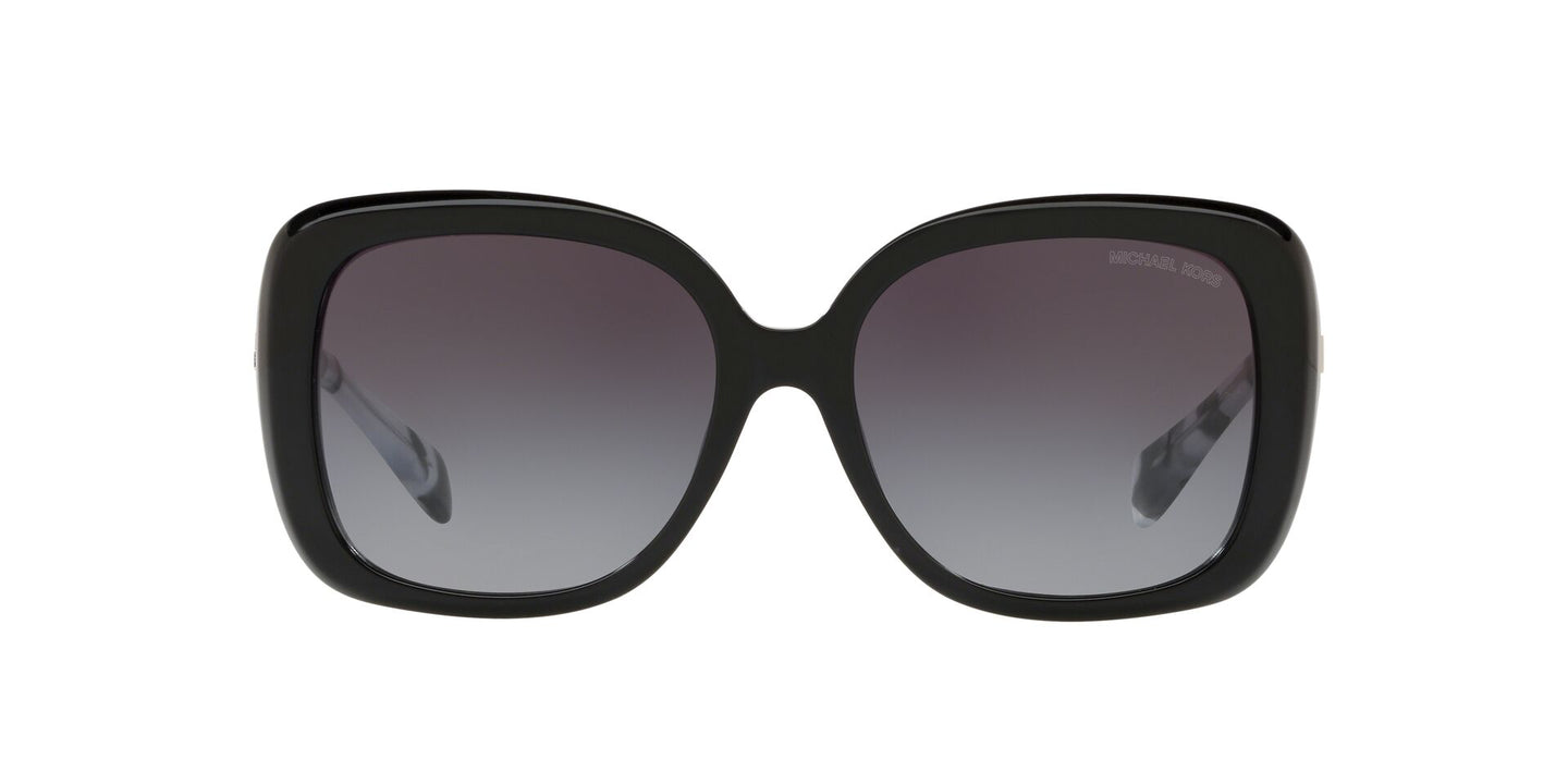 Michael Kors - MK2081F Black Rectangle Women Sunglasses - 56mm