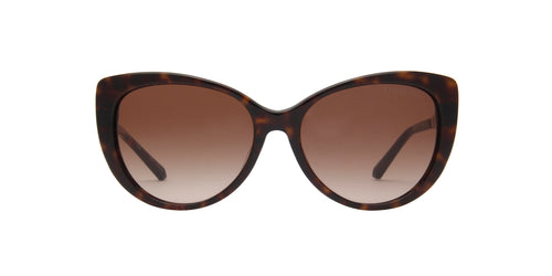 Michael Kors - Galapagos Dark Tortoise Cat Eye Women Sunglasses - 56mm