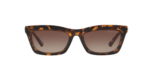 Michael Kors - MK2087U Dk Tort Rectangle Women Sunglasses - 54mm