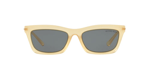Michael Kors - MK2087U Sunshine Yellow Rectangle Women Sunglasses - 54mm