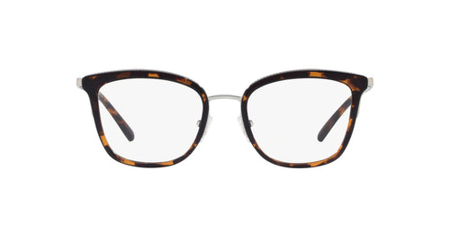 Michael Kors - MK3032 Dk Tort Square Women Eyeglasses - 51mm