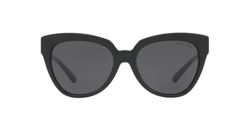 Michael Kors - MK2090 Black Cat Eye Women Sunglasses - 55mm