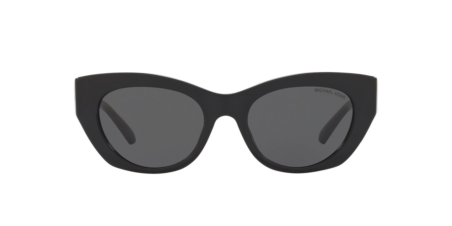 Michael Kors - MK2091 Black Cat Eye Women Sunglasses - 51mm