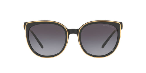 Michael Kors - MK2089U Black Square Women Sunglasses - 55mm