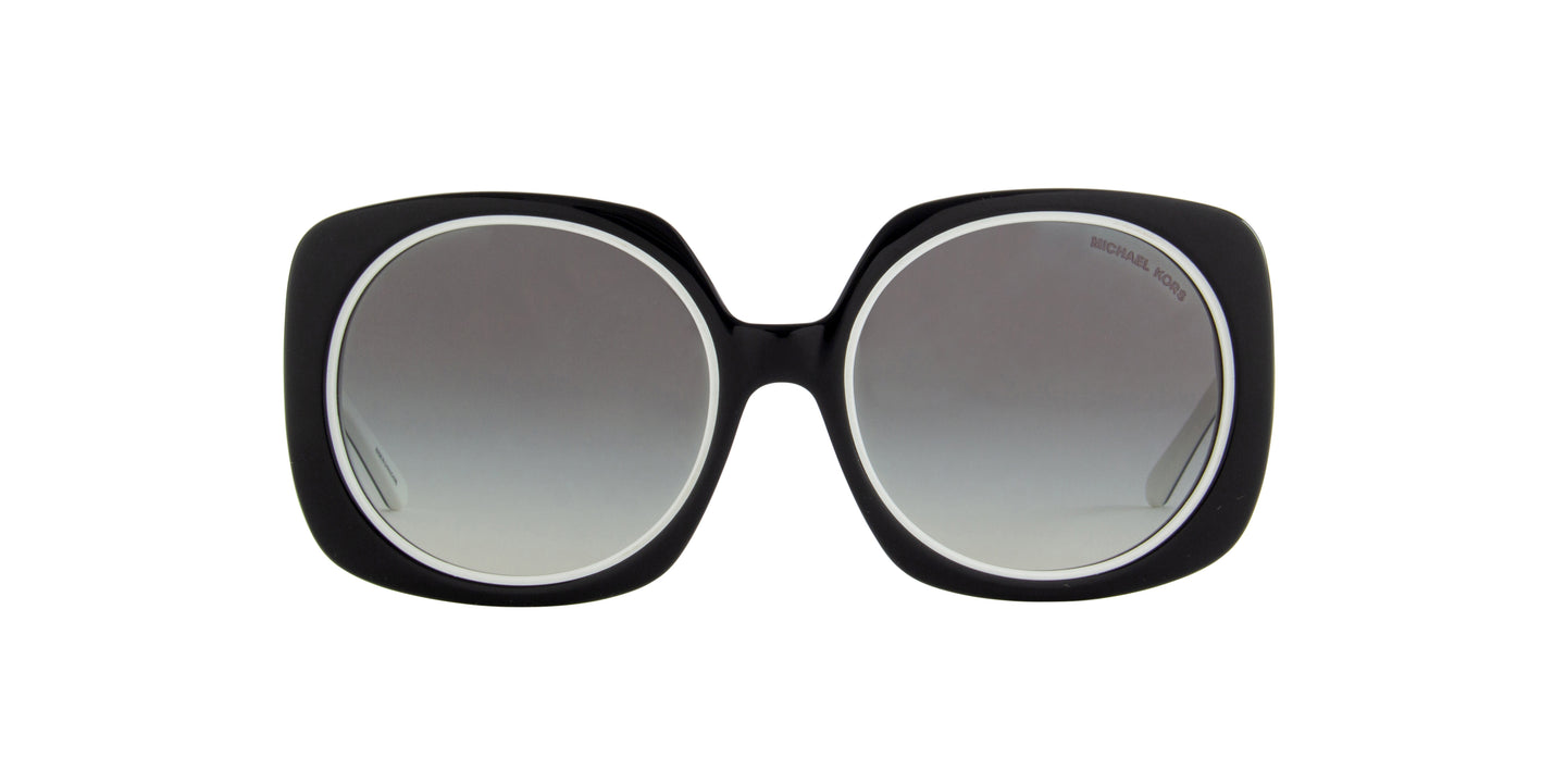 Michael Kors - MK2050 Black Oversized Women Sunglasses - 55mm