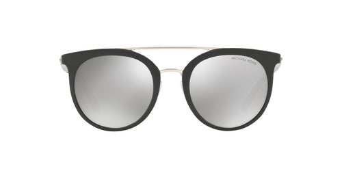 Michael Kors - MK2056 Black Round Women Sunglasses - 50mm