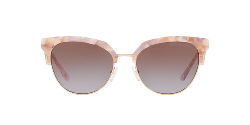 Michael Kors - MK1033 Pastel Pink Mosaic/Shiny Rose Irregular Women Sunglasses - 54mm
