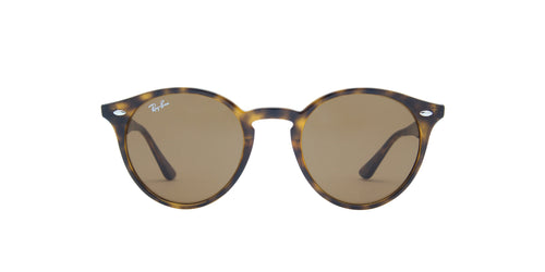 Ray Ban - RB2180 Tortoise Oval Unisex Sunglasses - 49mm