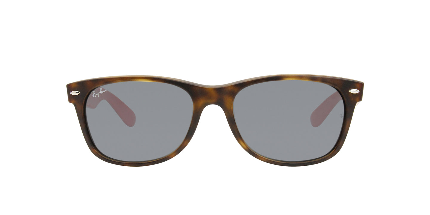 Ray Ban - New Wayfarer Tortoise/Blue Unisex Sunglasses - 55mm