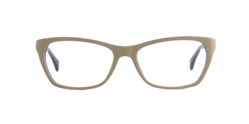 Ray Ban Rx - RX5298 Beige/Violet Rectangular  Eyeglasses - 55mm