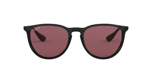 Ray Ban - RB4171 Black Oval Women Sunglasses - 54mm