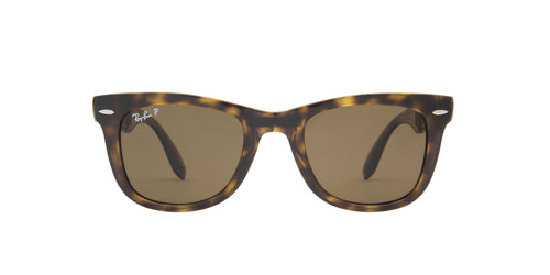 Ray Ban - Wayfarer Folding Light Havana Wayfarer Men Sunglasses - 50mm