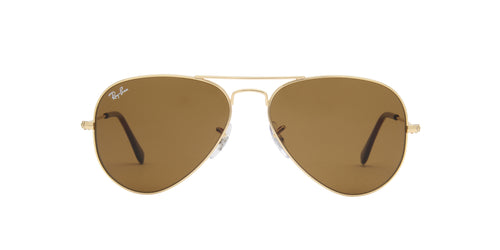 Ray Ban - Aviator Classic Gold/Brown Unisex Sunglasses - 55mm