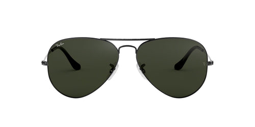 Ray Ban - RB3025 Gray Aviator Unisex Sunglasses - 58mm
