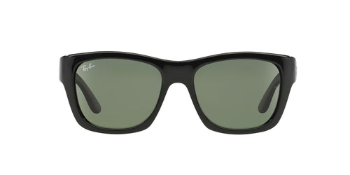Ray Ban - RB4194 Black Square Unisex Sunglasses - 53mm