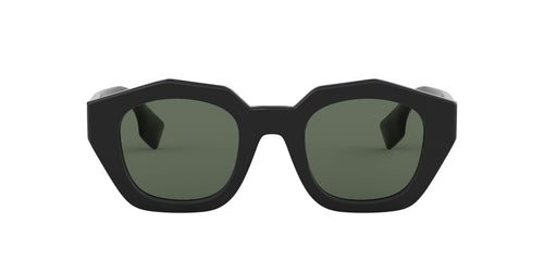 Burberry - BE4288 Black Irregular Women Sunglasses - 46mm