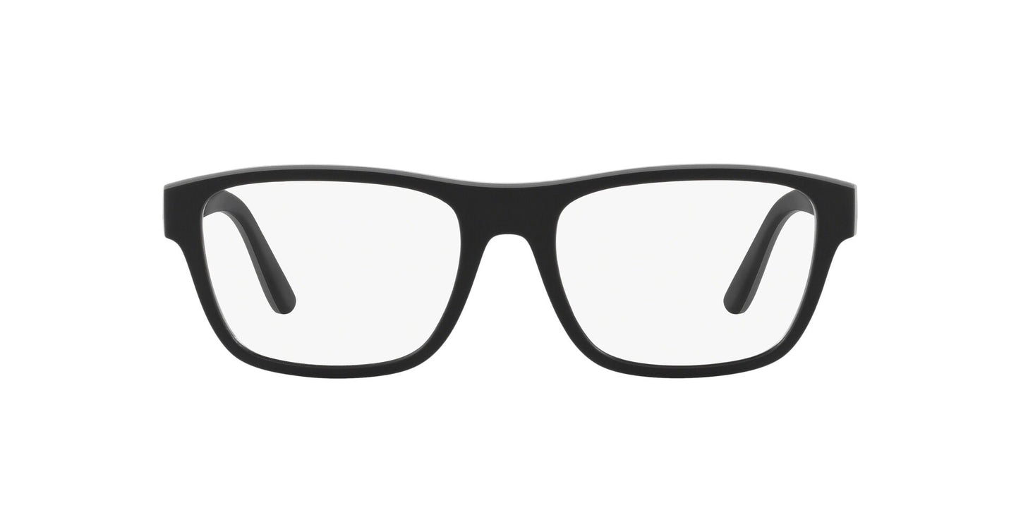 Ralph- Polo - PH2199 Matte Black/Rubber Grey Pillow Men Eyeglasses - 53mm