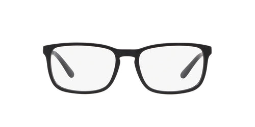 Ralph- Polo - PH2202 Matte Black Rectangle Men Eyeglasses - 55mm