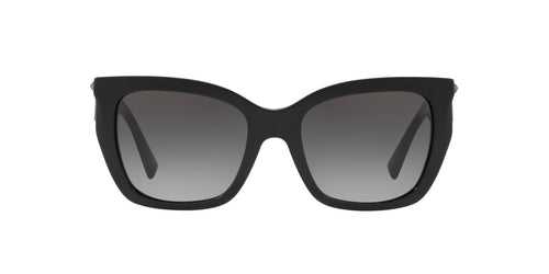 Valentino - 0VA4048 Black Cat Eye Women Sunglasses - 53mm