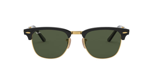 Ray Ban - RB2176 Black Rectangular Unisex Sunglasses - 51mm