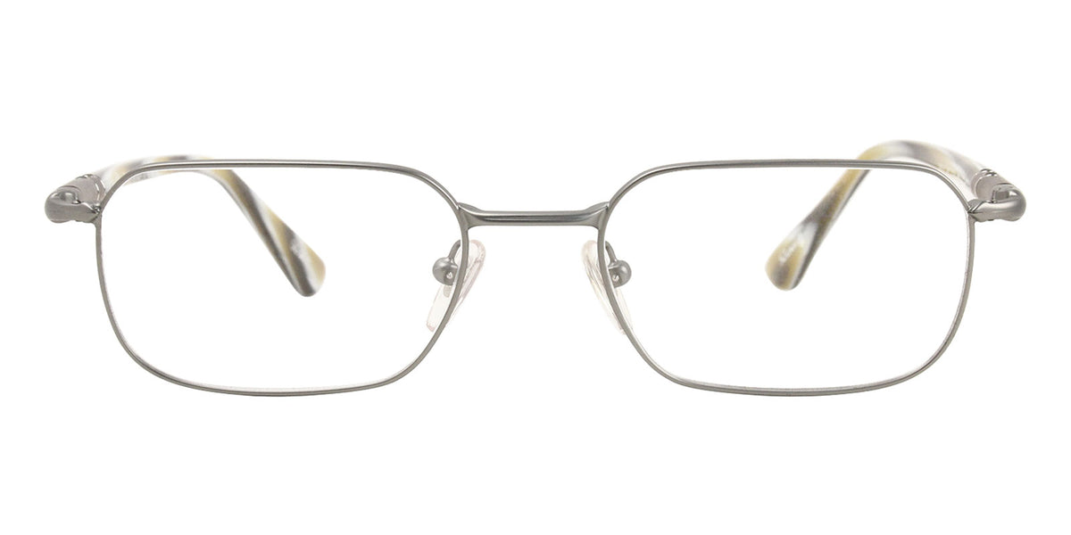 Persol - PO 2431V Gray Rectangular Unisex Eyeglasses - 51mm