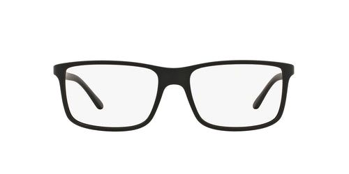 Ralph- Polo - PH2126 Matte Black Rectangle Men Eyeglasses - 55mm
