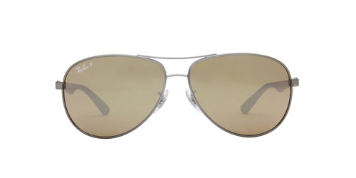 Ray Ban - RB8313 Gray Aviator Men Sunglasses - 61mm