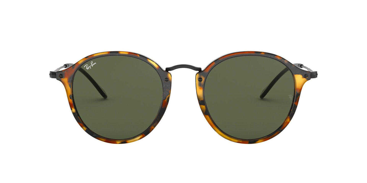 Ray Ban - RB2447 Tortoise Oval Unisex Sunglasses - 49mm