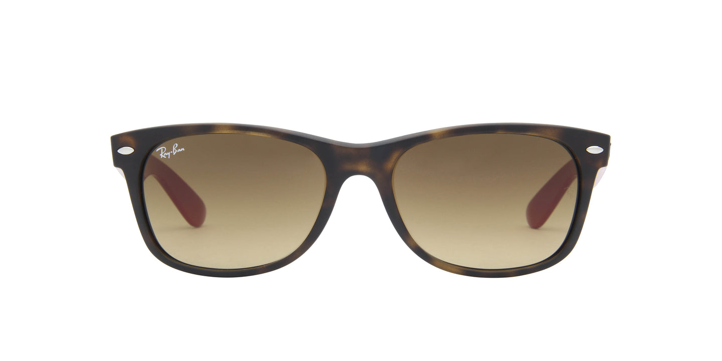 Ray Ban - New Wayfarer Tortoise Wayfarer Unisex Sunglasses - 55mm