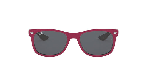 Ray Ban Jr - RJ9052S Top Red Fuxia On Gray Square Unisex Sunglasses - 48mm