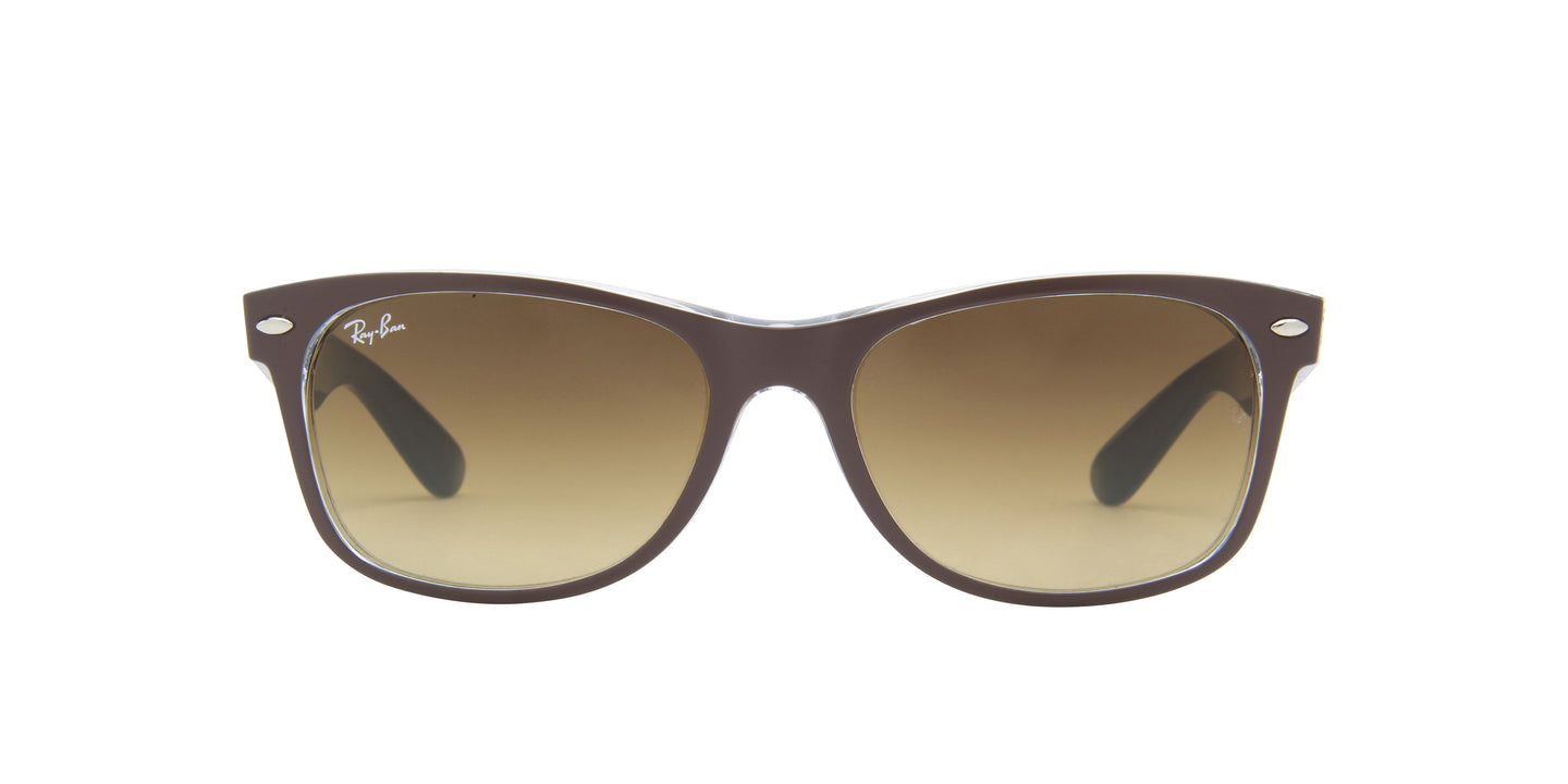 Ray Ban - New Wayfarer Brown/Brown Gradient Unisex Sunglasses - 55mm