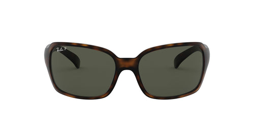 Ray Ban - RB4068 Tortoise Rectangular Men Sunglasses - 60mm