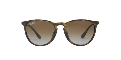 Ray Ban - Erika Classic Low Bridge Light Havana Oval Women Sunglasses - 54mm
