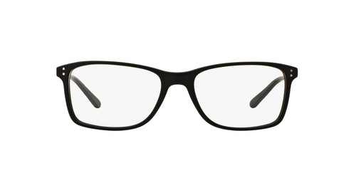 Ralph- Polo - PH2155 Matte Black Rectangle Men Eyeglasses - 54mm