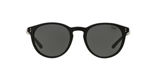 Ralph- Polo - PH4110 Matte Black Phantos Men Sunglasses - 50mm