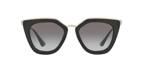 Prada - PR 53SS Black Cat Eye Women Sunglasses - 52mm