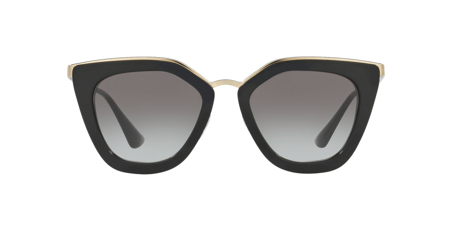 Prada - PR53SS Black/Grey Gradient Cat Eye Women Sunglasses - 52mm