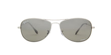 Ray Ban - Chromance Shiny Silver/Grey Silver Mirror Polarized Aviator Unisex Sunglasses - 59mm