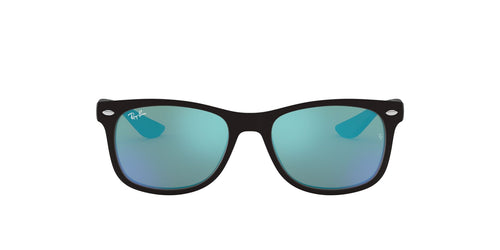 Ray Ban Jr - RJ9052SF Matte Black Square Unisex Sunglasses - 50mm