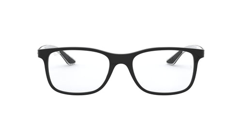 Ray Ban Rx - RX8903 Black Square Men Eyeglasses - 53mm