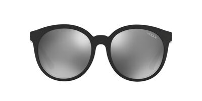 Vogue - 0VO5140SD Black Round Women Sunglasses - 56mm